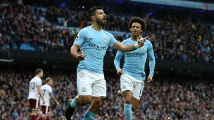 Manchester City 3 - Burnley 0