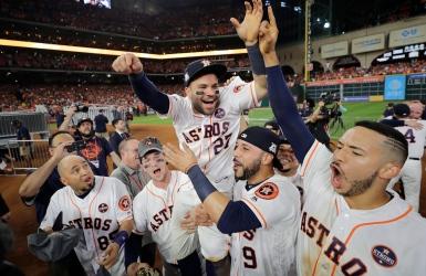 Les Astros accèdent à la Série mondiale