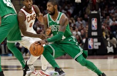 Kyrie Irving est mis à l'amende par la NBA