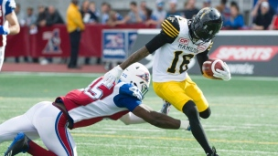 Tiger-Cats 43 - Alouettes 16