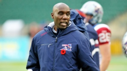 Kavis Reed, directeur-général et entraîneur-chef par intérim des Alouettes