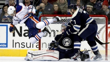 Oilers 3 - Blue Jackets 1