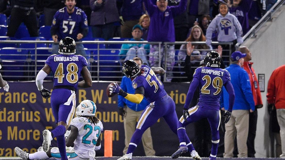 Le quaterback de Baltimore Joe Flacco victime d'une commotion cérébrale — NFL
