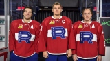 Chris Terry, Byron Froese et Matt Taormina