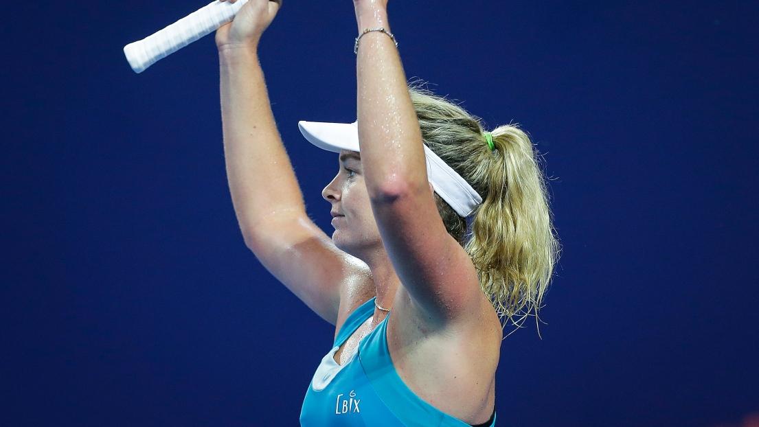 Finale entre Julia Görges et Coco Vandeweghe à Zhuhai — WTA Elite Trophy