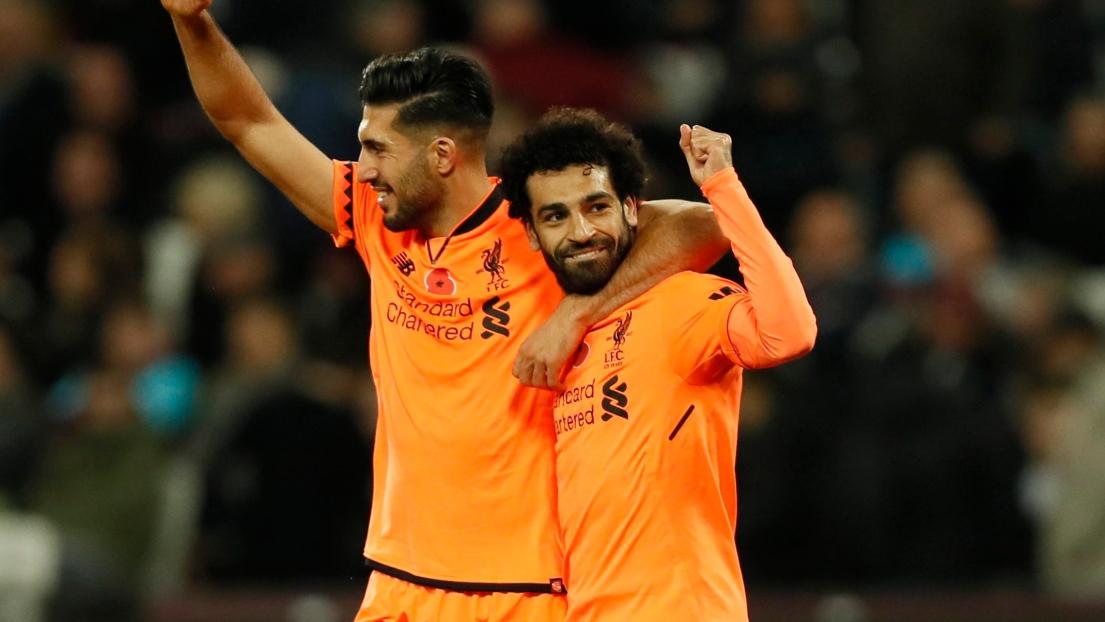 Emre Can et Mohamed Salah