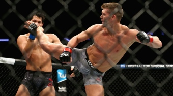 Jorge Masvidal et Stephen Thompson