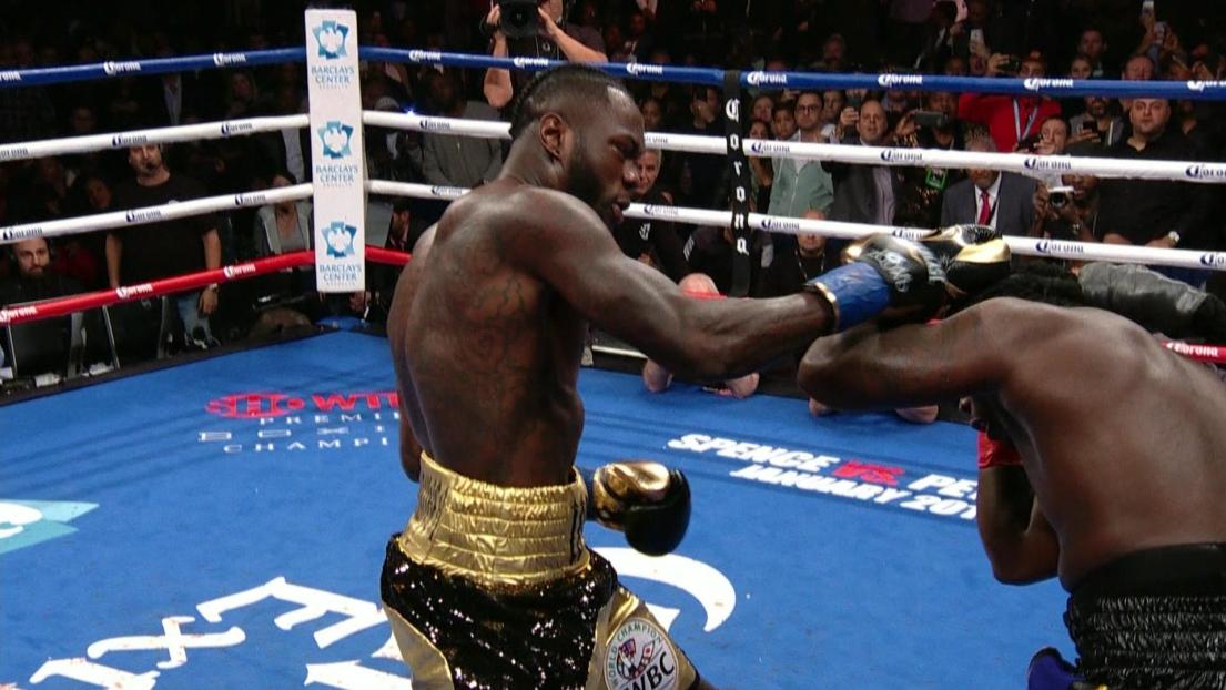 Deontay Wilder se contente d'un round pour garder sa ceinture — Boxe