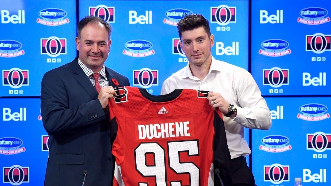 Matt Duchene et Pierre Dorion