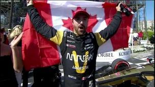 James Hinchcliffe rêve d'une course d'Indycar à Montréal