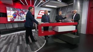 Un grand coup de l'impact de Montréal