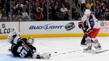 Blue Jackets 1 - Kings 2