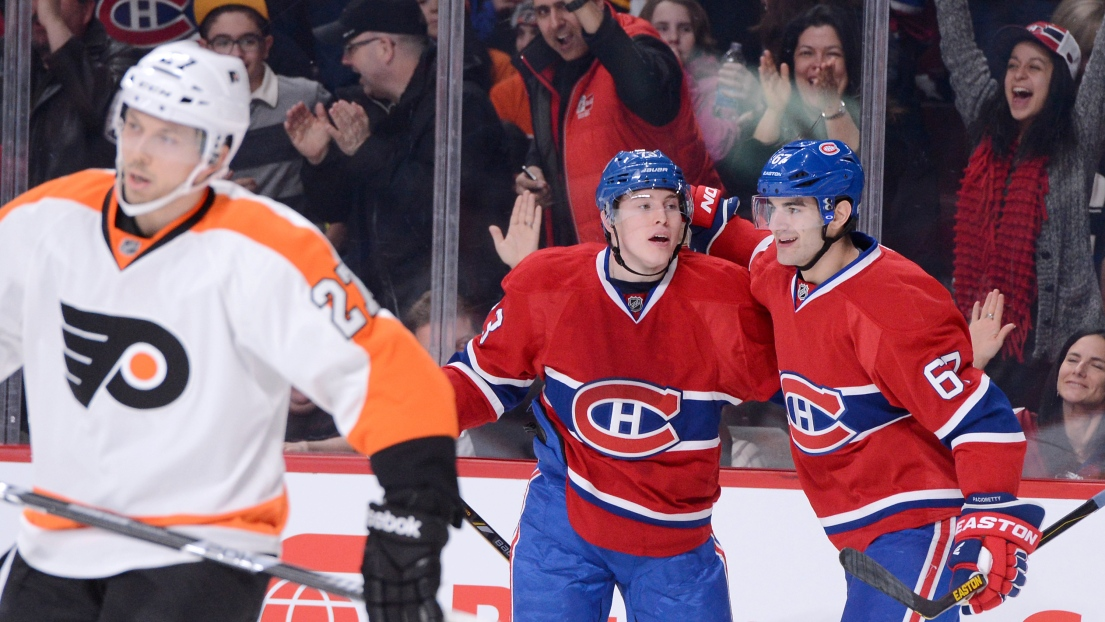 Brendan Gallagher et Max Pacioretty