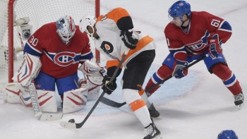 En son et images : Flyers - Canadiens