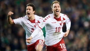 Irlande 1 - Danemark 5