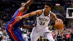 Pistons 95 - Bucks 99