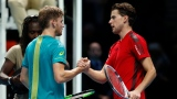 David Goffin et Dominic Thiem