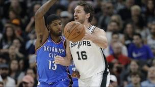 Thunder 101 - Spurs 104