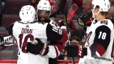 Anthony Duclair, Max Domi et Christian Dvorak
