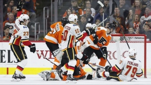 Flames 5 - Flyers 4 (Prolongation)
