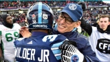 James Wilder fils et Marc Trestman