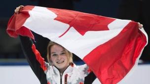 Les Canadiens font le plein de médailles