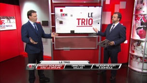 Le Trio: Price et Schlemko avec le groupe