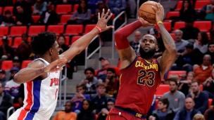 Cavaliers 116 - Pistons 88