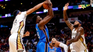 Thunder 107 - Pelicans 114