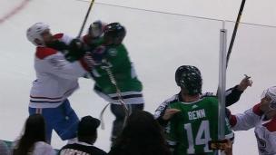 Les frères Benn se bousculent et Radulov s'en mêle!