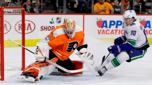 Canucks 5 - Flyers 2