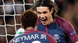 Neymar et Edinson Cavani