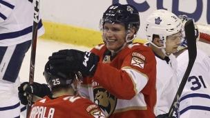 Maple Leafs 1 - Panthers 2 (Prolongation)