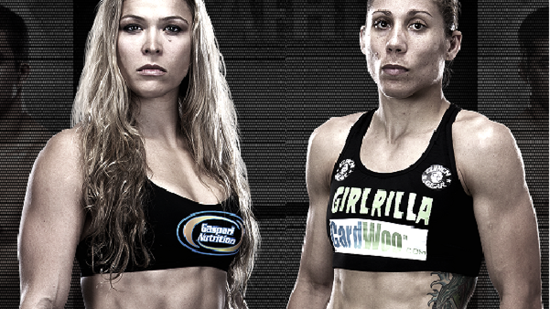 Ronda Rousey et Liz Carmouche