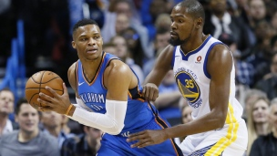 Warriors 91 - Thunder 108