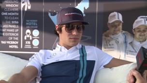 Lance Stroll fait le bilan sur sa première saison en F1