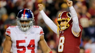 Giants 10 - Redskins 20