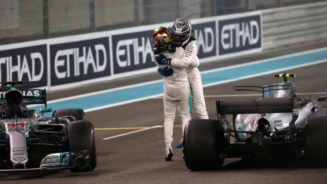 Valtteri Bottas et Lewis Hamilton
