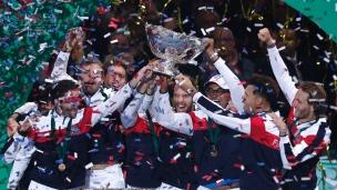 La France remporte la Coupe Davis