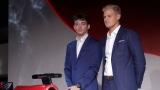 Charles Leclerc et Marcus Ericsson