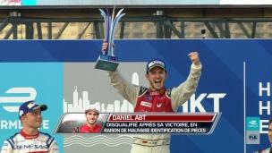 Daniel Abt disqualifié après sa victoire