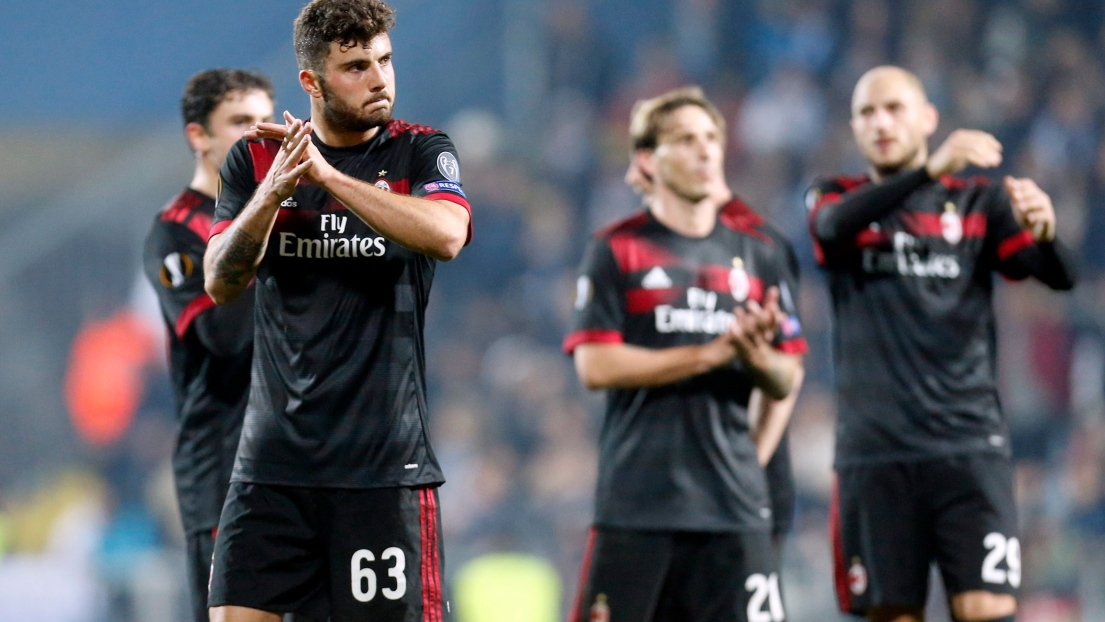 Des joueurs de l'AC Milan