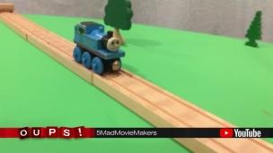 Oups! Thomas le petit train, cascadeur