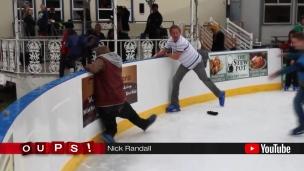 Oups! Une difficile première fois en patins