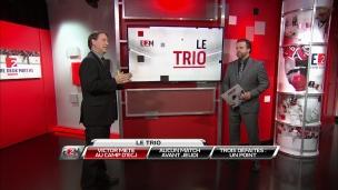 Le trio : Victor Mete au camp d'ÉCJ