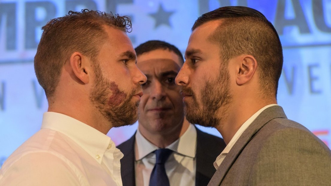 Billy Joe Saunders et David Lemieux