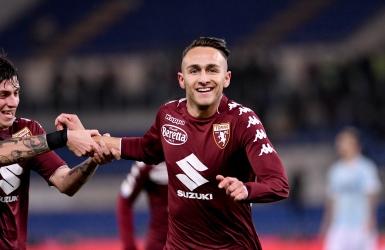 La Lazio logiquement battue à Rome par le Torino
