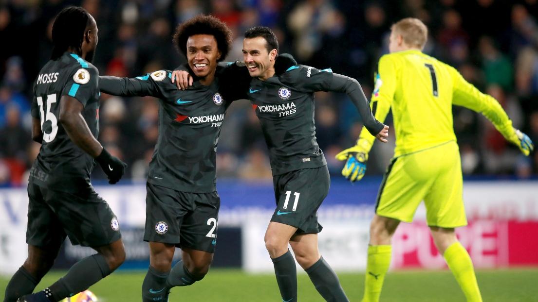 Willian et Pedro