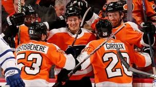 Maple Leafs 2 - Flyers 4