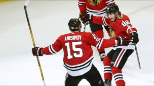 Panthers 2 - Blackhawks 3 (Prolongation)